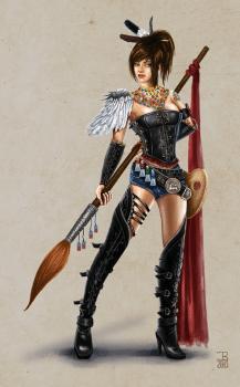 Warrior artist