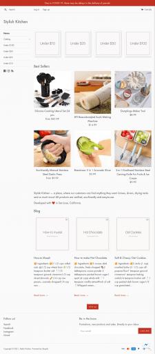 Stylish Kitchen | Shopify