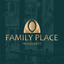 Логотип для ресторану Family Place