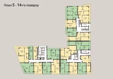 План этажа в векторе