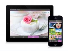 Дизайн приложения c обоями для iPhone и iPаd