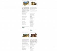 Наполнение сайта деревянных домов (joomla)