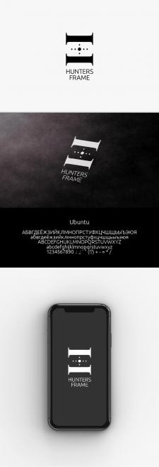 Дизайн лого для фотостудии HUNTER FRAME