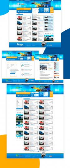 Дизайн сайта объявлений авто