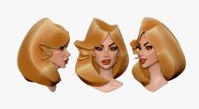 голова декоративная для аватарки