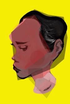 голова стилизация