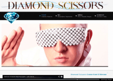 Сайт - певец Diamond Scissors