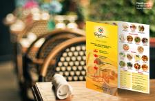 """Листовка-меню для ресторана """"Барвиха"""""""