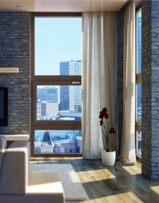 Лофт, окно