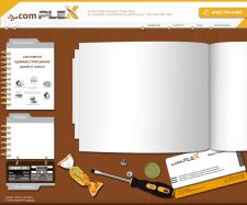 Дизайн и верстка интернет сайта - Comlex