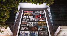 Постер «Oktober Rock Fest», ТРЦ «Караван»