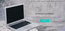 Сайт портфолио для разработчика