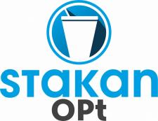 Логотип производителя пластиковых стаканов