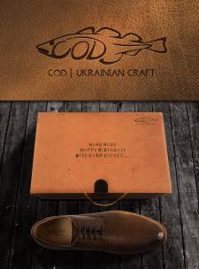 логотип для бренда обуви COD