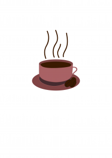 "Рисунок на тему ""Чашка кофе"""
