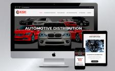Корпоративный сайт для торговой компании