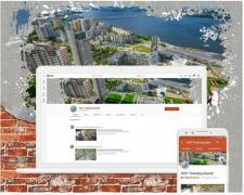 Оформление Ютуб канала для компании Новобуд