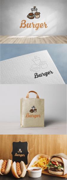 Разработка логотипа для бургерной