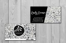 Дизайн визитки Rosehip&Co
