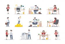 Иллюстрации для e-mail рассылки