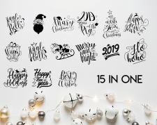 PROFESSIONAL NEW YEAR'S VECTOR CLIPART