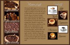 Буклет кофейного магазина