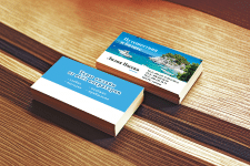 Дизайн визитки туризм V2