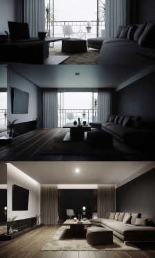 Дизайн и визуализация интерьера