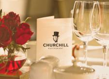 Логотип ресторана «Churchill»