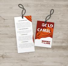 Бирка для коллекции одеял/ подушей Gold Camel