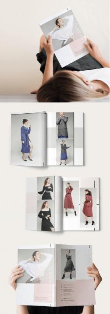 Верстка каталога с одеждой
