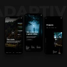 Дизайн сайта, адаптив для смортфона