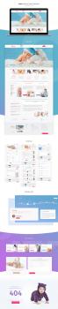 "Website & Logotype Surrogacy Agency ""Neogenia"""