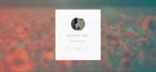 Визитка для Sophie Art