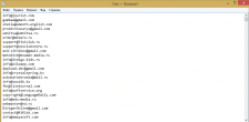Емайл адреса разработчиков Epple