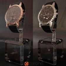 3D Візуалізація годинника SLAVA