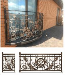 дизайн ворот и забора из металла