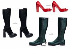 Обработка фото обуви