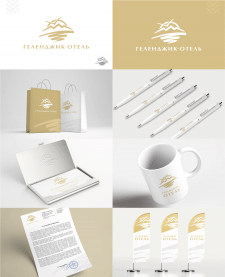 Логотип и фирменный стиль для сети пансионатов