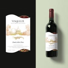 Этикетка для южноафриканского вина