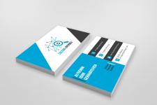 Дизайн визитки для компании по поиску грузов