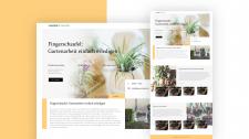 Дизайн сайта по садоводству