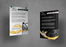 Плакаты для дистрибьютора моторных масел Scriptum
