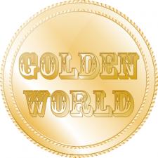 Логотип интернет магазина Золотой мир