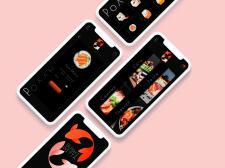 Дизайн мобильного приложения и логотип