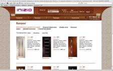 Создание сайта магазина межкомнатных дверей INIZIO