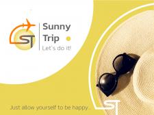 Логотип для туристичного агенства