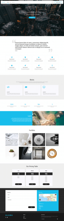 ALABA (Themeforest)