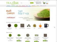 Интернет магазин Tea Time