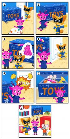 Комиксы для игры